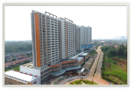 Mixed Use Cinere Terrace Suites 18 cts18
