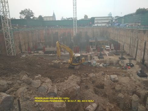 On Going Project Permata Hijau Suites 7 phs6