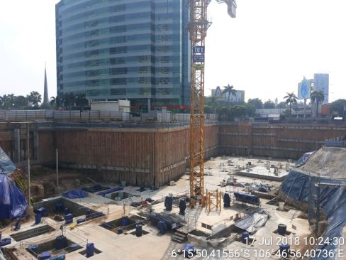 On Going Project Pondok Indah Mall 3 & 2 Office Towers 9 pim8